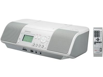 ★KENWOOD/ ケンウッド CDオーディオ CLX-30-W [ホワイト] 【コンポ】【送料無料】