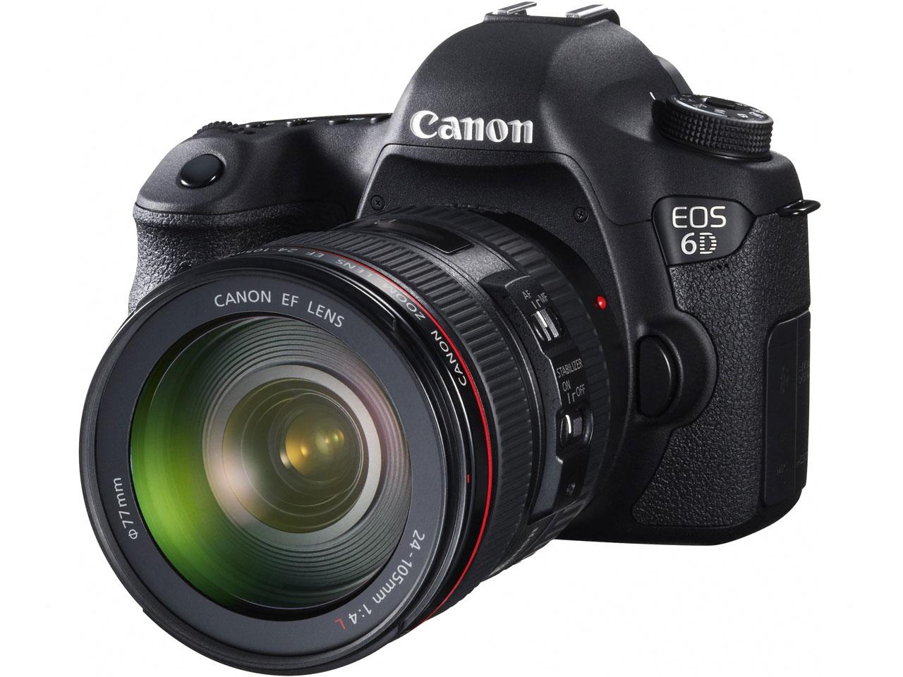 【1/24入荷予定】CANON / キヤノン デジタル一眼レフカメラ EOS 6D EF24-70L IS USM レンズキット 【デジタル一眼カメラ】【送料無料】