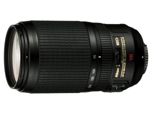 Nikon / ニコン デジタル一眼レフカメラ専用レンズ AF-S VR Zoom-Nikkor 70-300mm f/4.5-5.6G IF-ED 【レンズ】【送料無料】