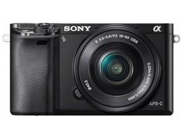 ソニー / SONY ミラーレス一眼カメラ α6000 ILCE-6000L パワーズームレンズキット [ブラック] 【デジタル一眼カメラ】