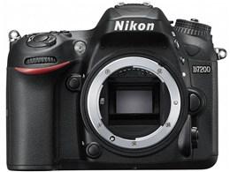 Nikon / ニコン デジタル一眼レフカメラ D7200 ボディ 【デジタル一眼カメラ】【送料無料】