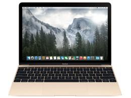 ★アップル / APPLE MacBook 1100/12 MK4M2J/A [ゴールド]