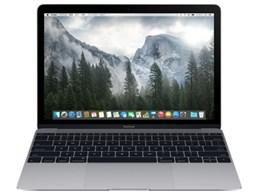 ★アップル / APPLE MacBook 1200/12 MJY42J/A [スペースグレイ]