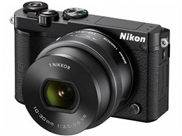 Nikon / ニコン ミラーレス一眼カメラ Nikon 1 J5 標準パワーズームレンズキット [ブラック] 【デジタル一眼カメラ】