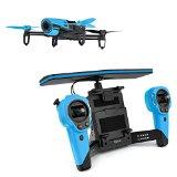 パロット Bebop Drone スカイコントローラーセット PF725141 [ブルー] 【ドローン・マルチコプター】【送料無料】