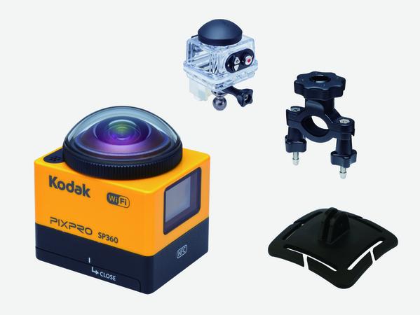 ★Kodak PIXPRO SP360 アクションカメラ オートバイセット