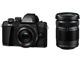 OLYMPUS / オリンパス OM-D E-M10 Mark II EZダブルズームキット [ブラック] 【デジタル一眼カメラ】【送料無料】