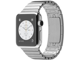 Retinaディスプレイを搭載した腕時計型のスマートデバイス ●アップル / APPLE Apple Watch 38mm MJ3E2J/A [ステンレススチールリンクブレスレット]【送料無料】