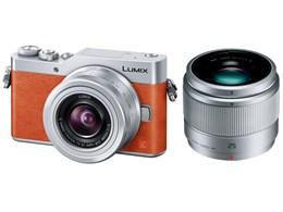 Panasonic / パナソニック LUMIX DC-GF9W-D ダブルレンズキット [オレンジ] 【デジタル一眼カメラ】【送料無料】