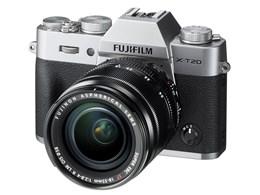FUJIFILM / 富士フイルム FUJIFILM X-T20 レンズキット [シルバー] 【デジタル一眼カメラ】【送料無料】