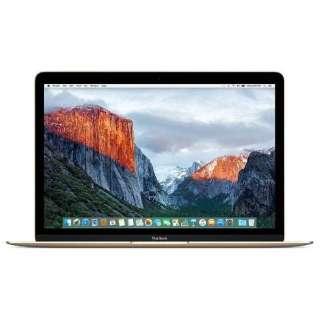 ★☆アップル / APPLE MacBook Retinaディスプレイ 1300/12 MNYL2J/A [ゴールド] 【Mac ノート】【送料無料】