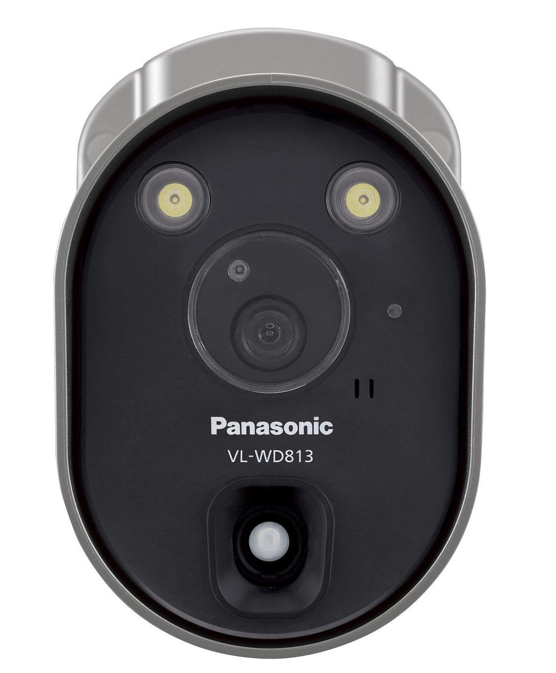 ★◇センサーライト付屋外ワイヤレスカメラ 電源コード式 VL-WD813K 【ネットワークカメラ・防犯カメラ】【送料無料】