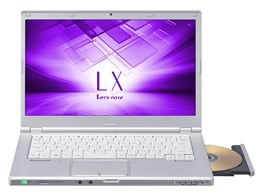 ★Panasonic / パナソニック Let's note LX6 CF-LX6RDMVS 【ノートパソコン】【送料無料】