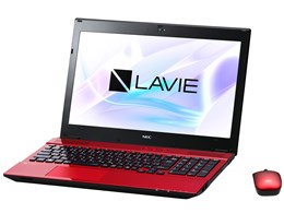 ★NEC LAVIE Note Standard NS350/HAR PC-NS350HAR [クリスタルレッド]
