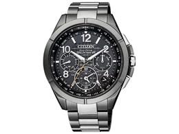 CITIZEN / シチズン アテッサ エコ・ドライブ電波時計 ブラックチタンシリーズ CC9075-52E 【腕時計】【送料無料】