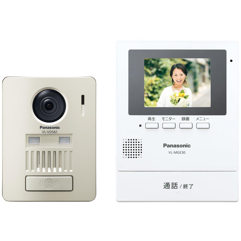 Panasonic / パナソニック モニター壁掛け式ワイヤレステレビドアホン VL-SGE30KL 【テレビドアホン・インターホン】