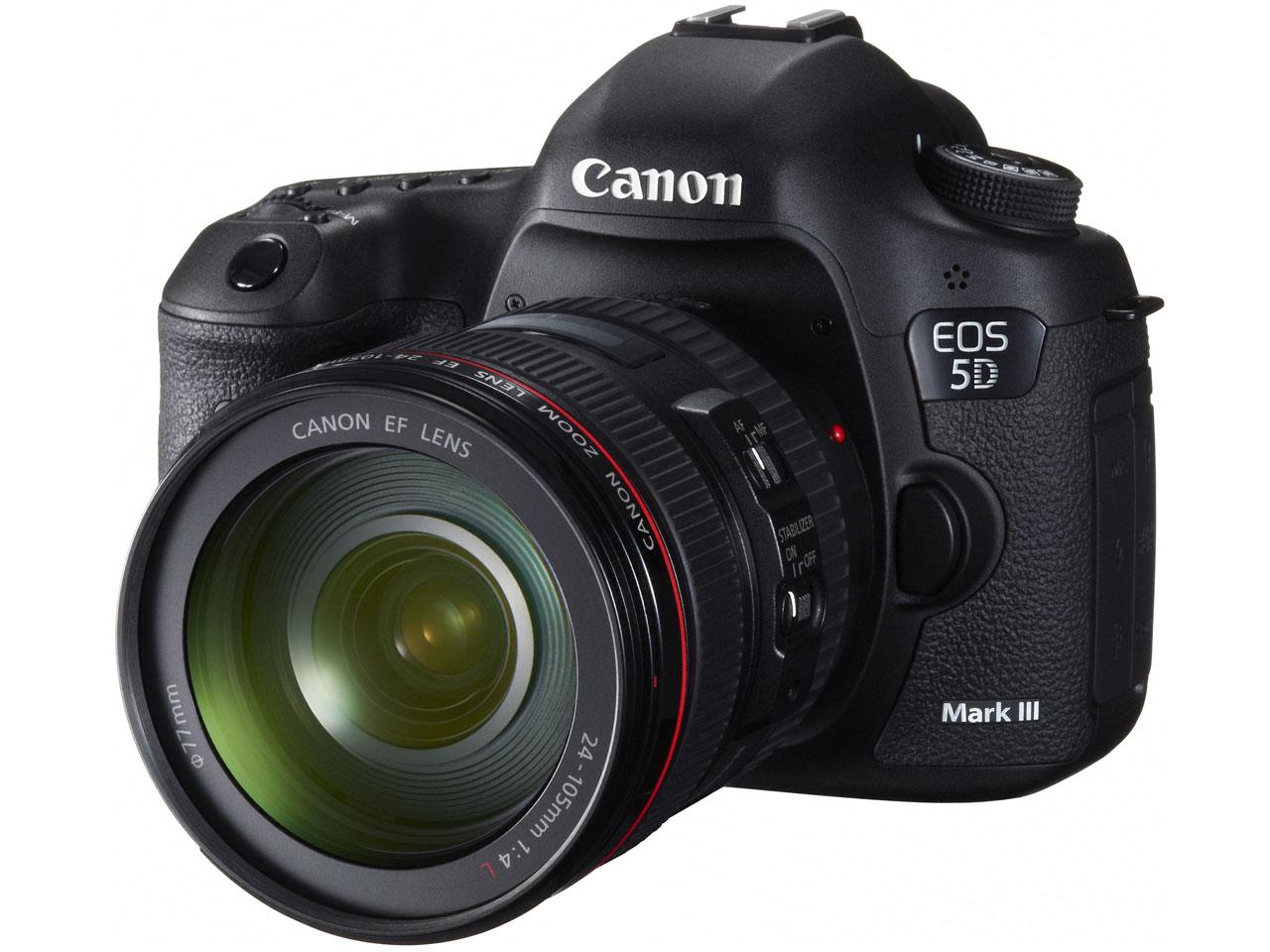 ●【アウトレット 展示品】Canon / キヤノン デジタル一眼レフカメラ EOS 5D Mark III EF24-105L IS U レンズキット