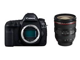 【アウトレット 保証書他店印付品】キヤノン / CANON EOS 5D Mark IV EF24-70L IS USM レンズキット