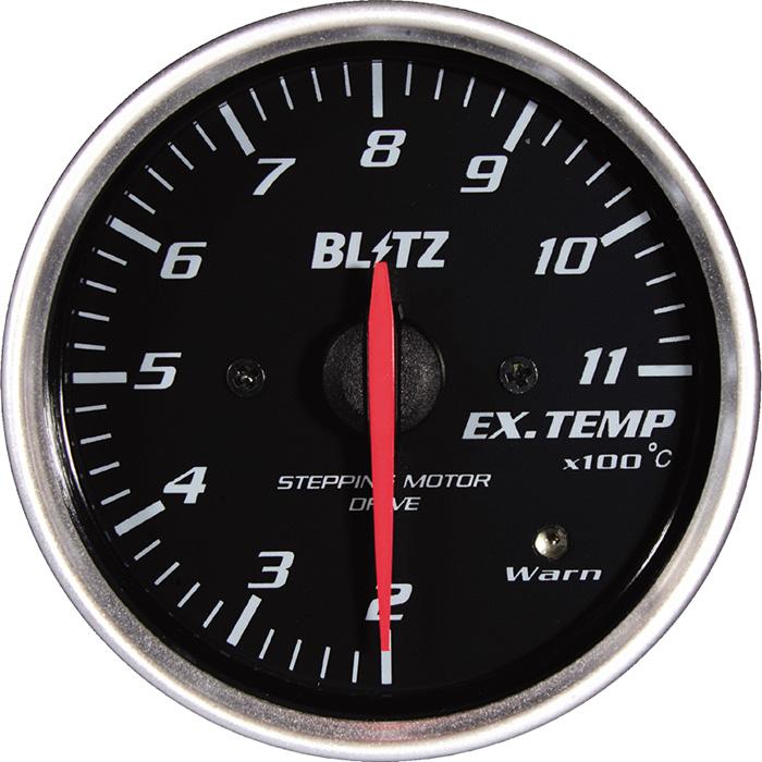 ★□ Blitz / ブリッツ RACING METER SD(レーシングメーターSD) φ60 EX.TEMP METER 19565