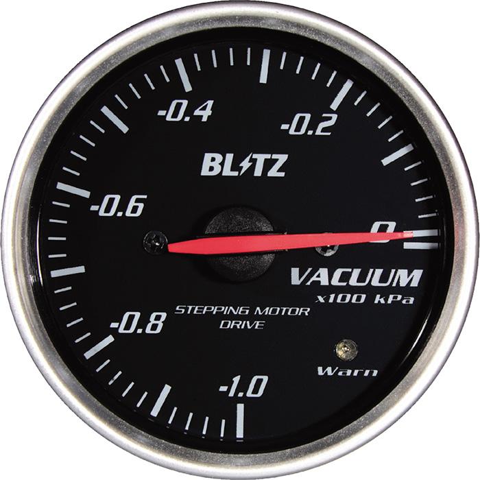 ★□ Blitz / ブリッツ RACING METER SD(レーシングメーターSD) φ52 VACUUM METER 19572