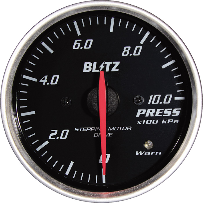 ★□ Blitz / ブリッツ RACING METER SD(レーシングメーターSD) φ52 PRESS METER 19574