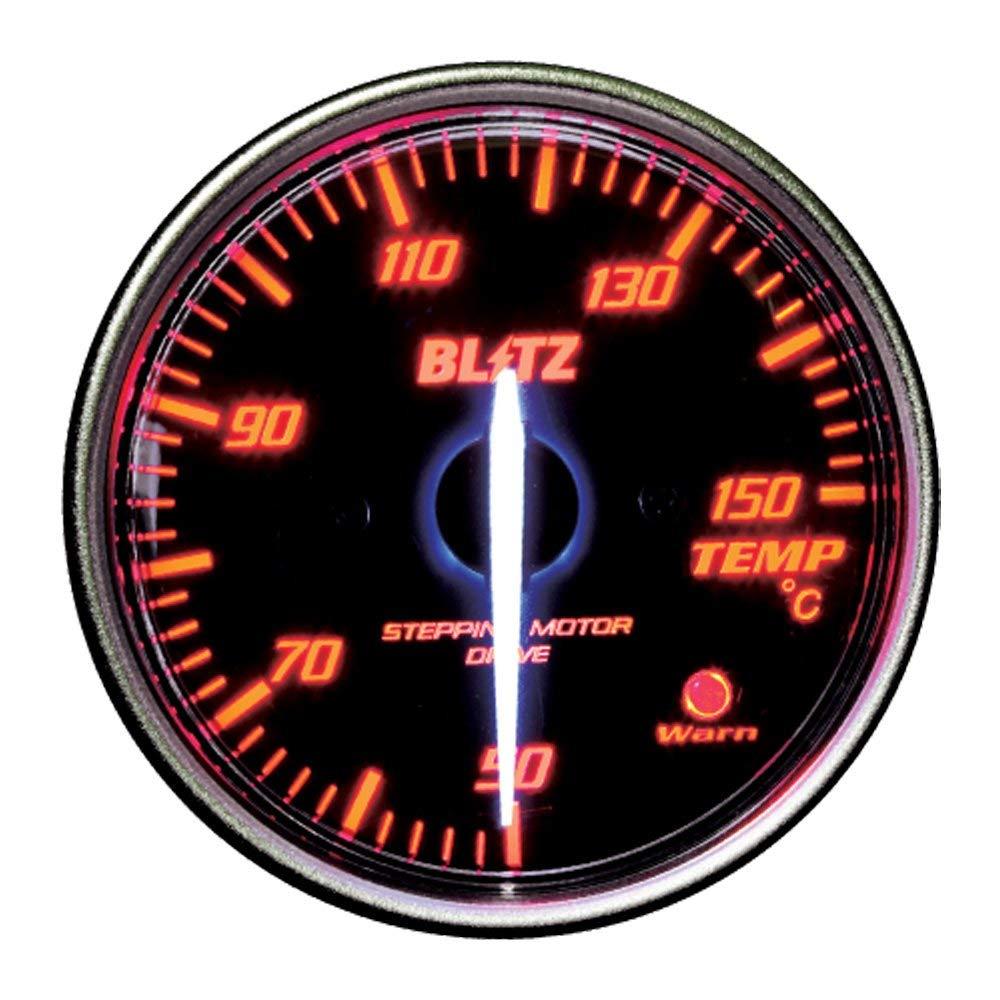 ★□ Blitz / ブリッツ RACING METER SD(レーシングメーターSD) φ60 TEMP METER RED 19583