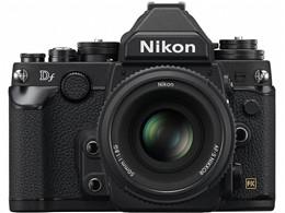 ●【アウトレット 保証書他店印付品】Nikon / ニコン フルサイズ一眼レフカメラ Df 50mm f/1.8G Special Editionキット [ブラック]