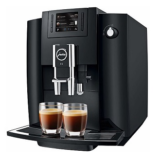 ★JURA / ユーラ 全自動コーヒーマシン jura E6 【正規品】 【コーヒーメーカー】【送料無料】