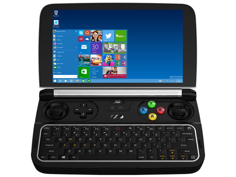 ★GPD GPD WIN2 [ 6インチ/ Core m3 7Y30/ 8GB/ 128GB/ Win10H ]【正規品】