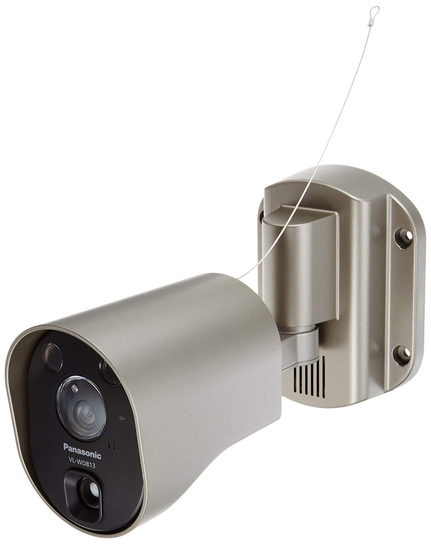 パナソニック センサーライト付屋外ワイヤレスカメラ 電源直結式 VL-WD813X