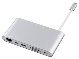★◇エレコム DST-C01SV [シルバー] 【USBハブ】【送料無料】