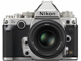 【アウトレット 保証書他店印付品】Nikon / ニコン フルサイズ一眼レフカメラ Df 50mm f/1.8G Special Editionキット [シルバー]