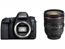 【アウトレット 保証書他店印付品】キヤノン / CANON EOS 6D Mark II EF24-70 F4L IS USM レンズキット