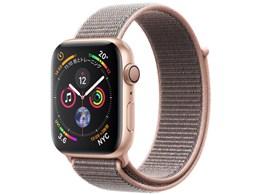 アップル / APPLE Apple Watch Series 4 GPSモデル 44mm MU6G2J/A [ピンクサンドスポーツループ] 【ウェアラブル端末・スマートウォッチ】