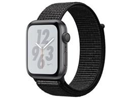 ★アップル / APPLE Apple Watch Nike+ Series 4 GPSモデル 44mm [ブラックNikeスポーツループ]【送料無料】