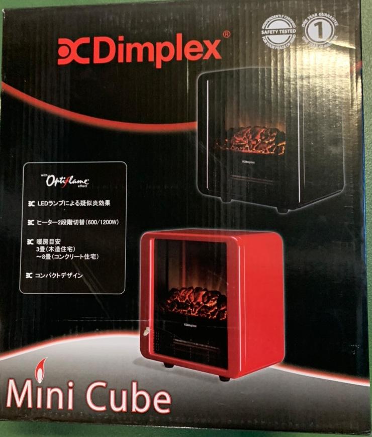 ★DIMPLEX オプティフレーム ミニキューブ MNC12RJ [レッド] 【ヒーター・ストーブ】【送料無料】