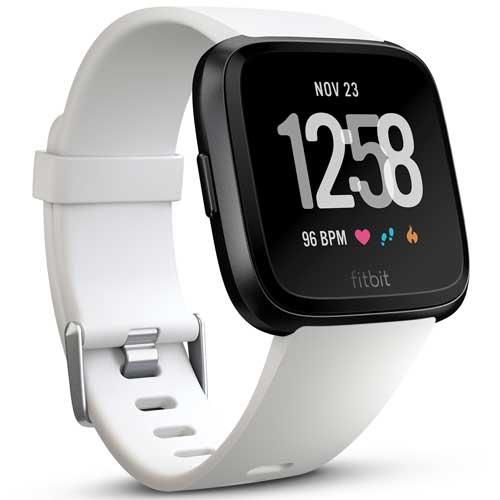 ★Fitbit Fitbit Versa FB505GMWT-EU 【ウェアラブル端末・スマートウォッチ】【送料無料】