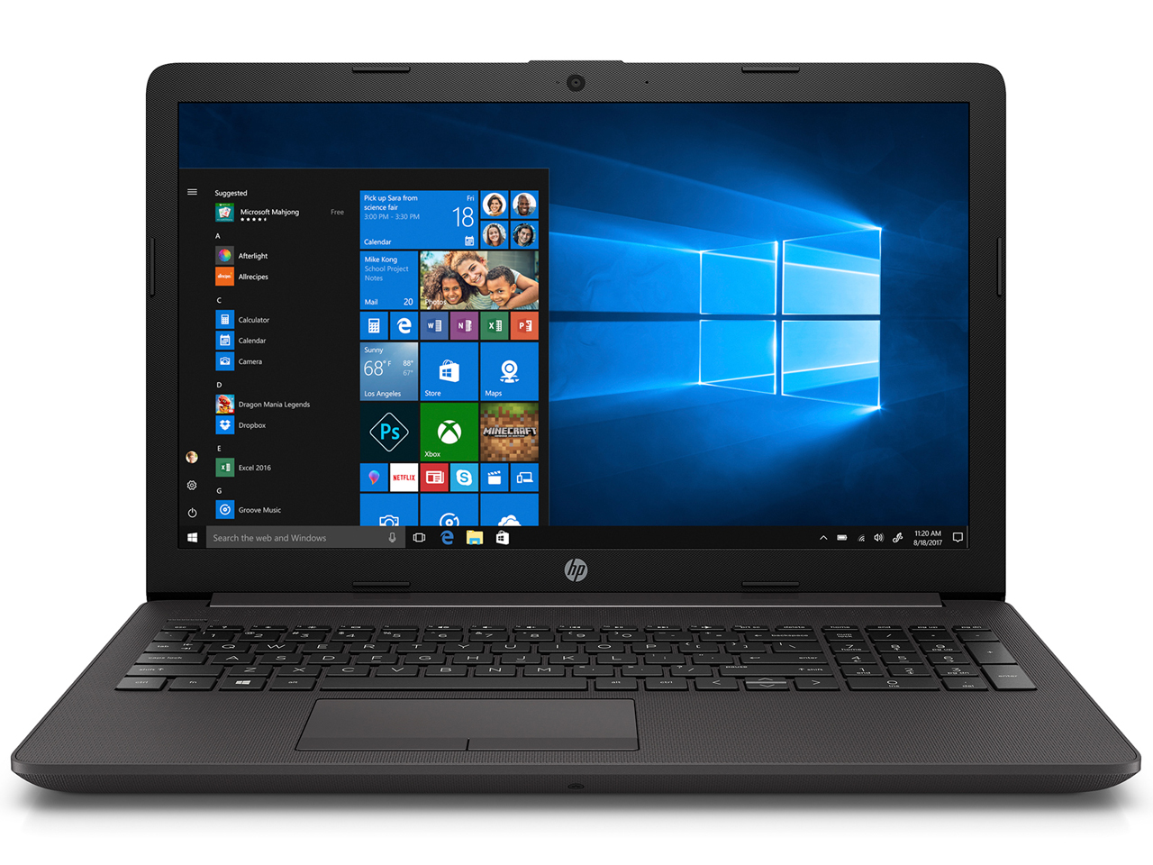 ★HP 255 G7 Notebook PC 8JT97PA-AAAN (15.6インチ/Windows10 Home/AMD A4-9125/2.3GHz/SSD:128GB/4GB)
