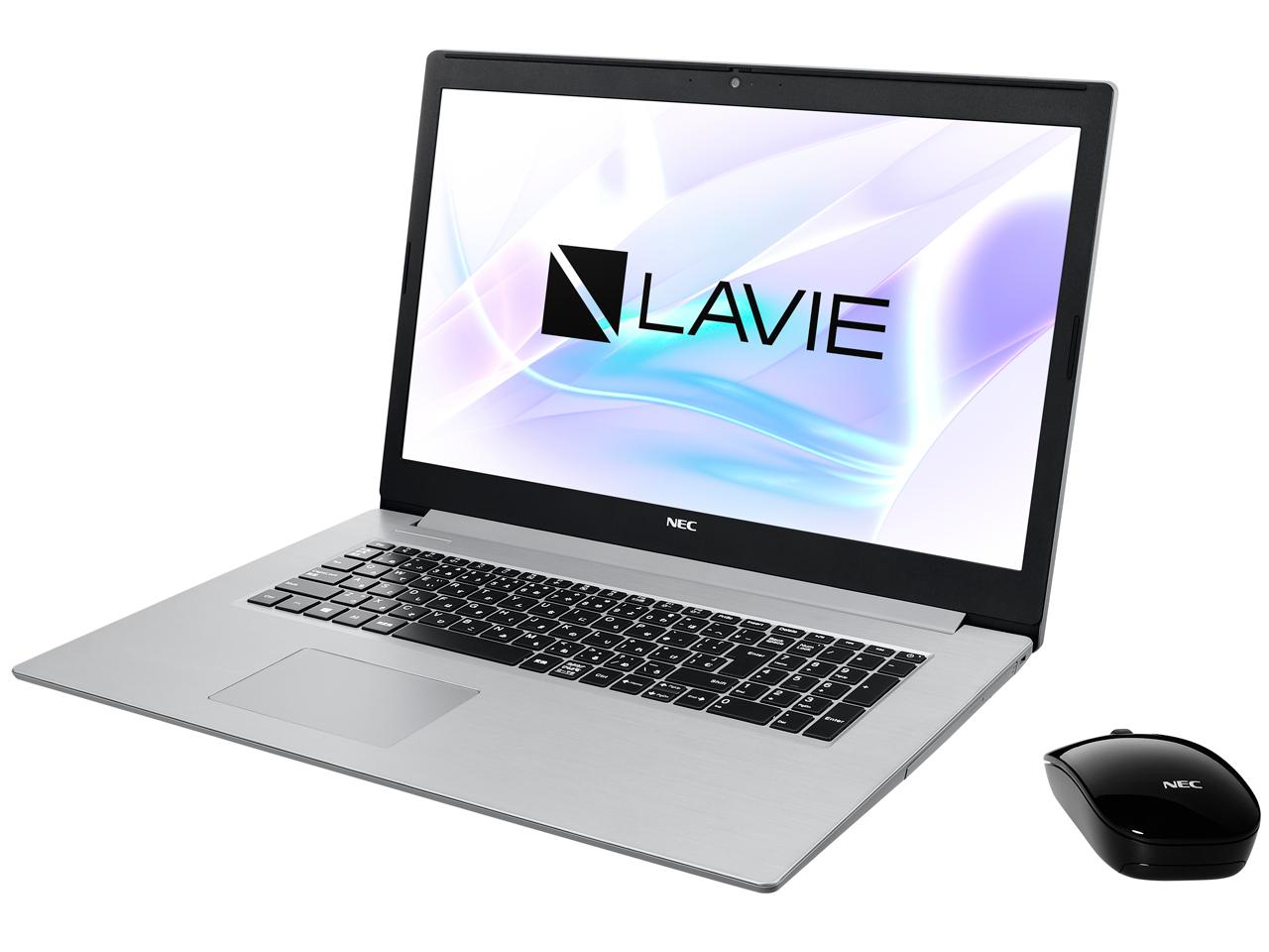 ●NEC LAVIE Note Standard NS350/NAS PC-NS350NAS-E3 [カームシルバー]【量販店モデル】