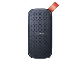 読み取り最大520MB sのSSD 2TB デポー SANDISK ポータブルSSD 販売 容量:2000GB インターフェイス:USB 送料無料 SDSSDE30-2T00-J25 SSD