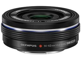 ◎◆ オリンパス M.ZUIKO DIGITAL ED 14-42mm F3.5-5.6 EZ [ブラック] 【レンズ】