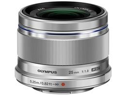◎◆ オリンパス M.ZUIKO DIGITAL 25mm F1.8 [シルバー] 【レンズ】