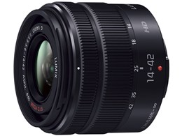 ◎◆ パナソニック LUMIX G VARIO 14-42mm/F3.5-5.6 II ASPH./MEGA O.I.S. H-FS1442A-KA [ブラック] 【レンズ】