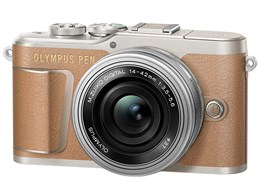 ◎◆ オリンパス OLYMPUS PEN E-PL9 14-42mm EZレンズキット [ブラウン] 【デジタル一眼カメラ】