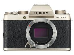 ◎◆ 富士フイルム FUJIFILM X-T100 ボディ [シャンパンゴールド] 【デジタル一眼カメラ】