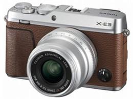 ◎◆ 富士フイルム FUJIFILM X-E3 単焦点レンズキット [ブラウン] 【デジタル一眼カメラ】