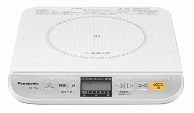 パナソニック 卓上IH調理器 ホワイト KZ-PH32-W