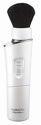 日立 洗顔ブラシ ハダクリエ ホイップ ウォッシュ 濃密泡洗顔 熊野筆 パールホワイト WB-K801 W
