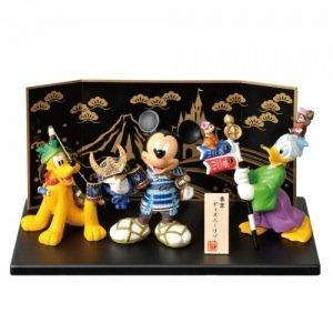 東京ディズニーリゾート枚数限定 ミッキー・プルート・ドナルドダックの五月人形 端午の節句