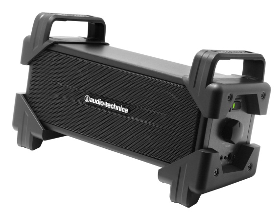 audio-technica BOOGIE BOX アクティブスピーカー(ブラック) AT-SPB50 BK ポータブルスピーカー